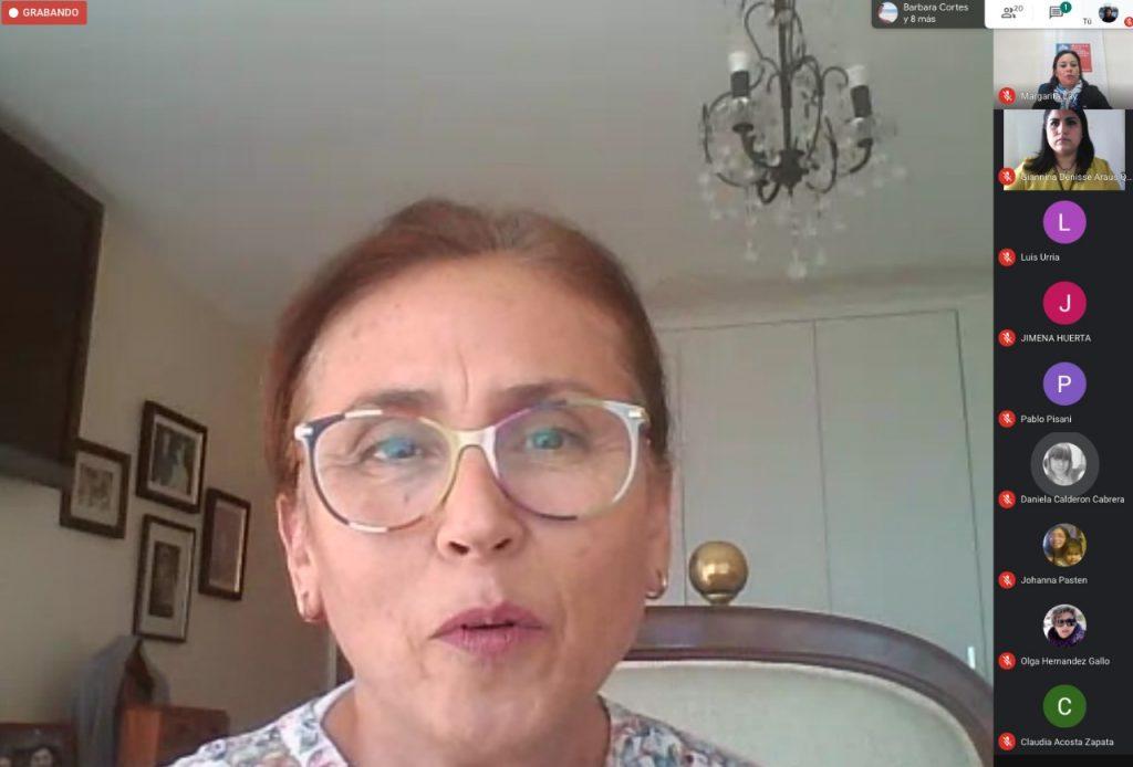 Maria Cecilia Hernández - Vicerrectora de Investigación y Desarrollo Tecnológico UCN